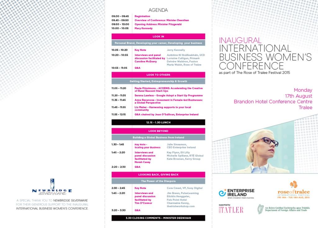 Enterprise Ireland Rose of Tralee Programme.indd